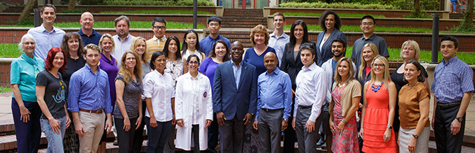 Brain Tumor Immunotherapy Program team