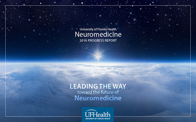2016 Neuromedicine Progress Report Cover