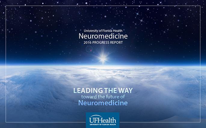 2016 Neuromedicine Progress Report Cover