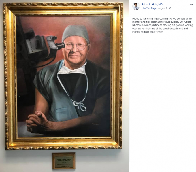 Dr. Hoh post about Dr. Rhoton