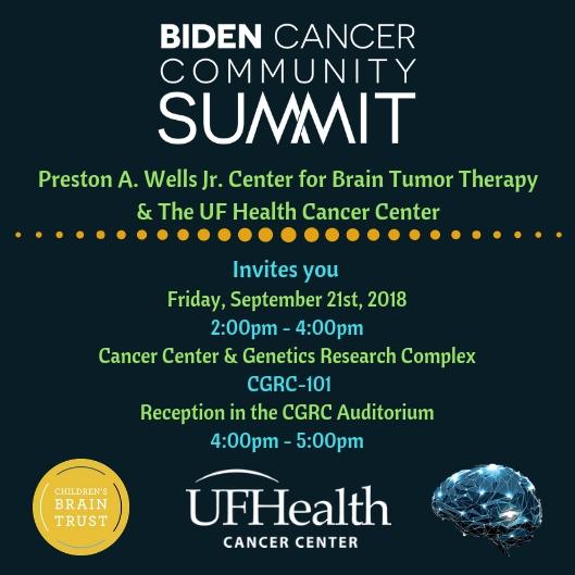 Biden Cancer Summit Flyer