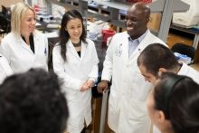 Dr. Mitchell and the UF Brain Tumor Immunotherapy team