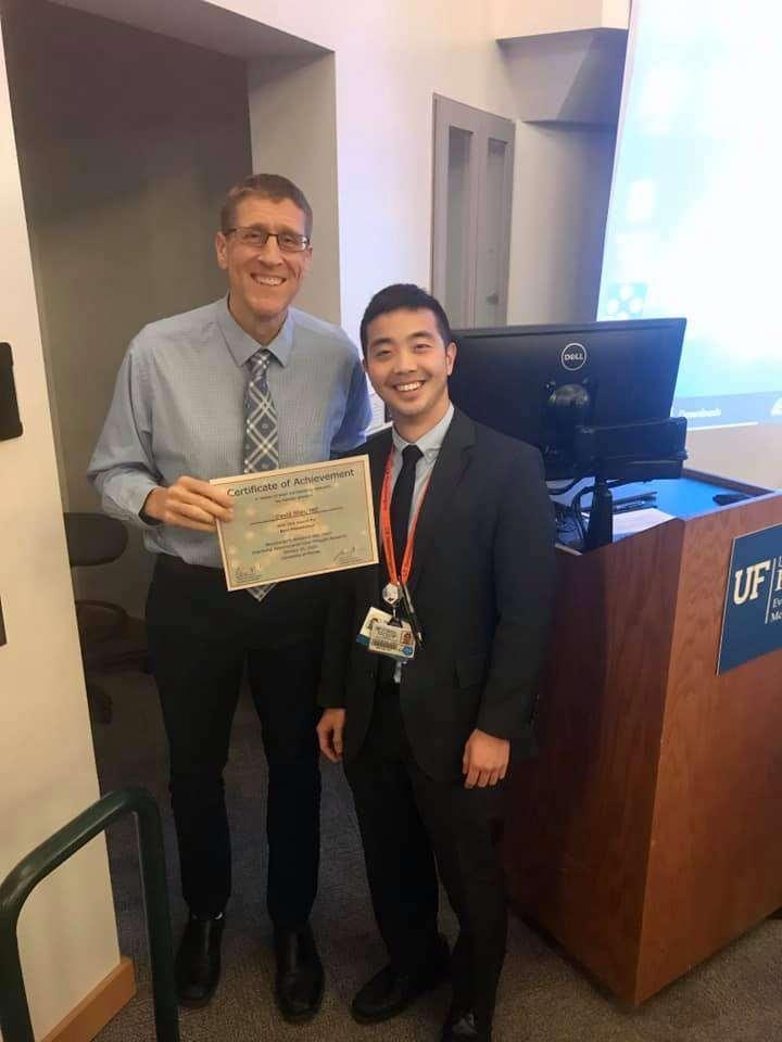 David Shin and Dr. Murad