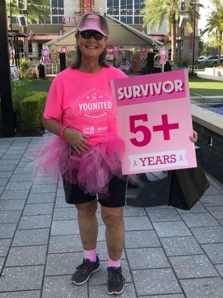 October Breast Cancer Awareness walk