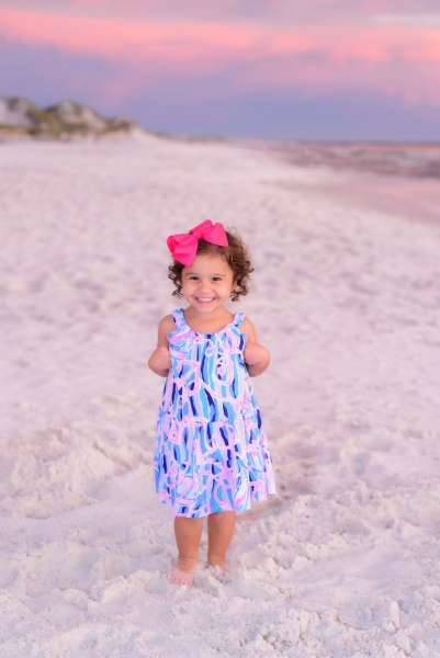 Sophia on beach, full size